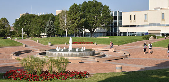 CSU-Pueblo Fountain