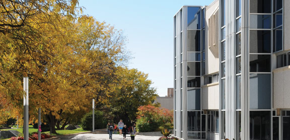 Library and Academic Resource Center in the fall