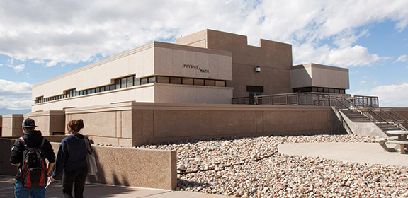 The Colorado State University-Pueblo Physics and Mathematics building
