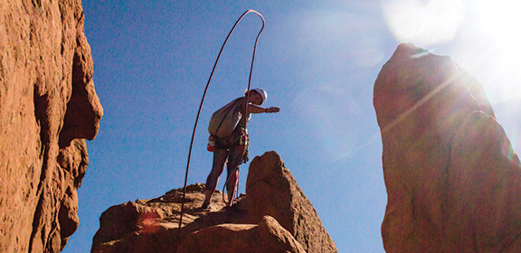 Outdoor Pursuits climbing Garden of the Gods