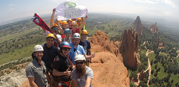 Outdoor Pursuits atop Garden of the Gods