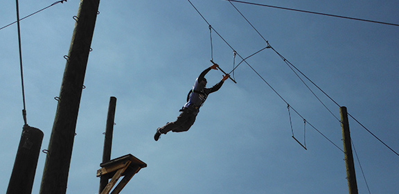 The challenge course at Colorado State University-Pueblo