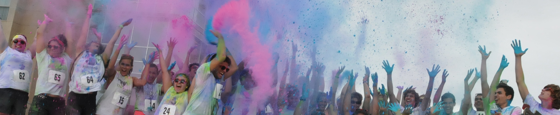 Color Run of the campus of Colorado State University-Pueblo
