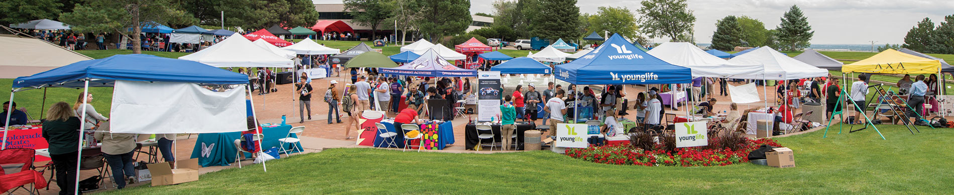 Student Employment and Involvement Festival on the campus of Colorado State University-Pueblo