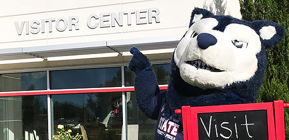 meet our mascot and more with a campus visit