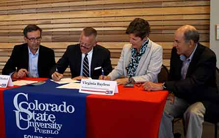 reisher scholars program signs with CSU-Pueblo