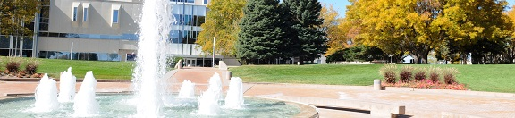 CSU-Pueblo fountain on campus