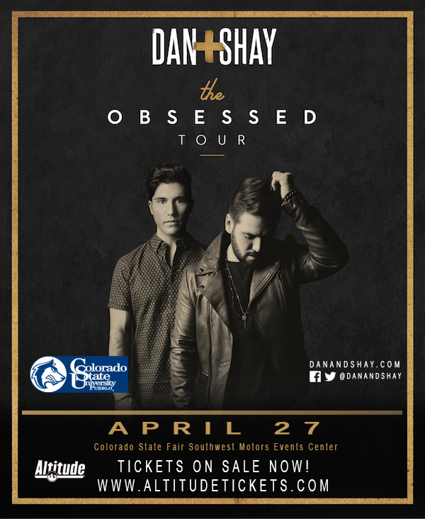 Dan and Shay Obsessed Tour Photo