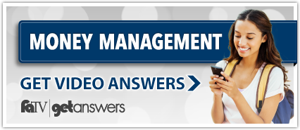 Get Answers Money Management FaTV Banner