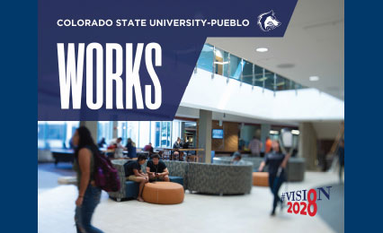 CSU-Pueblo works booklet cover from the next steps of the vision2028